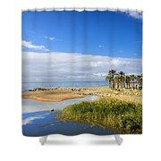 Costa Del Sol In Spain Shower Curtain