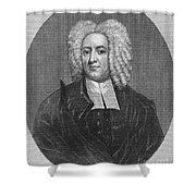 Cotton Mather (1663-1728) Shower Curtain