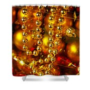 Crhistmas Decorations Shower Curtain