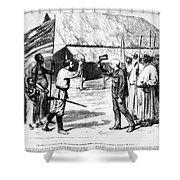 David Livingstone Shower Curtain