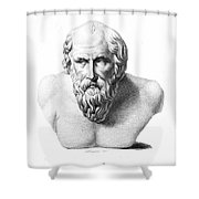 Diogenes (d. C320 B.c.) Shower Curtain