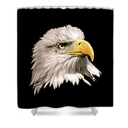 Eagle Profile Front Shower Curtain