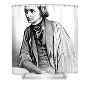 Edward Forbes, Manx Naturalist Shower Curtain