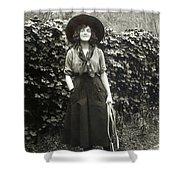 Elsie Janis (1889-1956) Shower Curtain