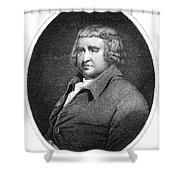 Erasmus Darwin, English Polymath Shower Curtain