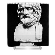 Euripides Shower Curtain by Granger