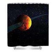 Exoplanet, Kepler-10b Shower Curtain