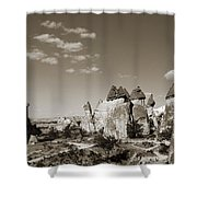 Fairy Chimney In Goreme Shower Curtain