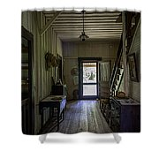 Farmhouse Entry Hall And Stairs Shower Curtain