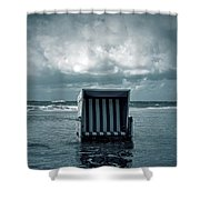 Flood Shower Curtain by Joana Kruse