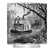Florida: St. Johns River Shower Curtain by Granger
