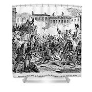 France: Revolution, 1848 Shower Curtain