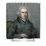 Francis Asbury (1745-1816) Shower Curtain