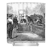 Freedmens Bureau, 1866 Shower Curtain
