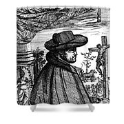 Fr�re Jacques Beaulieu, French Shower Curtain