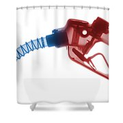 Gas Nozzle X-ray Shower Curtain