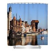 Gdansk In Poland Shower Curtain