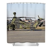 German Tiger Eurocopter At Fritzlar Shower Curtain