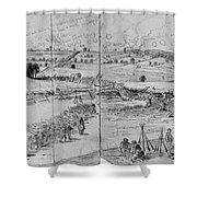 Gettysburg, 1863 Shower Curtain