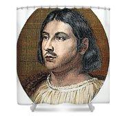 Giovanni Boccaccio Shower Curtain