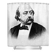 Gustave Flaubert (1821-1880) Shower Curtain