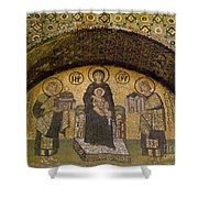 Hagia Sophia: Mosaic Shower Curtain