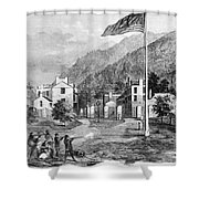 Harpers Ferry Insurrection, 1859 Shower Curtain by Photo Researchers