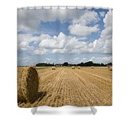 Harvest Time In France Shower Curtain