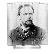 Henry James, American-born British Shower Curtain
