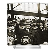 Herbert Hoover (1874-1964) Shower Curtain