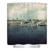 Historic Fox River Mills Shower Curtain