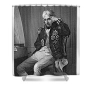Horatio Nelson (1758-1805) Shower Curtain