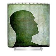 Human Representation Shower Curtain