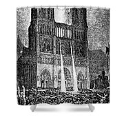 Hunchback Of Notre Dame Shower Curtain