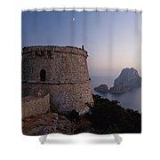 Ibiza, Spain Shower Curtain