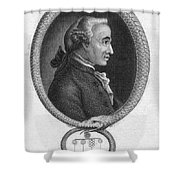 Immanuel Kant (1724-1804) Shower Curtain