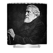 Ivan Turgenev (1818-1883) Shower Curtain