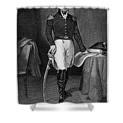 Jacob Jennings Brown Shower Curtain by Granger
