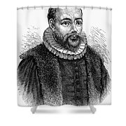 Jacobus Arminius (1560-1609) Shower Curtain