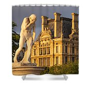 Jardin Des Tuileries Shower Curtain