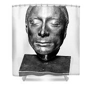 John Keats (1795-1821) Shower Curtain