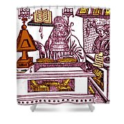 John Peckham, Anglican Theologian Shower Curtain