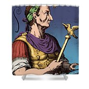 Julius Caesar, Roman General Shower Curtain