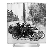 Keystone Kops Shower Curtain