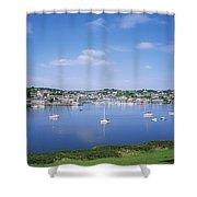 Kinsale, Co Cork, Ireland Shower Curtain