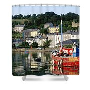 Kinsale Harbour, Co Cork, Ireland Shower Curtain