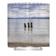 Lake Constance Shower Curtain