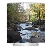 Laurel Creek Shower Curtain