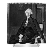 Laurence Sterne (1713-1768) Shower Curtain