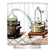 Lavoisiers Apparatus To Study Air Shower Curtain